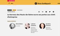 Ludivine JOUHANNY e Sandrine CLEVENOT, avocats au barreau des hauts-de-Seine répondent à LEXTENSO